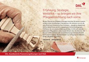 Markenkampagne der DAL - DAL. Assetbasierte Finanzierungslösungen nach Maß