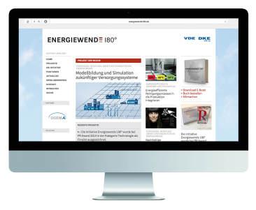 Webportal der Initiative Energiewende 180 Grad