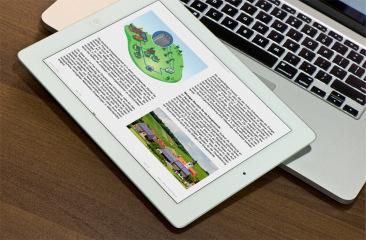 Das Energiewende-Buch wurde auch als E-Book realisiert