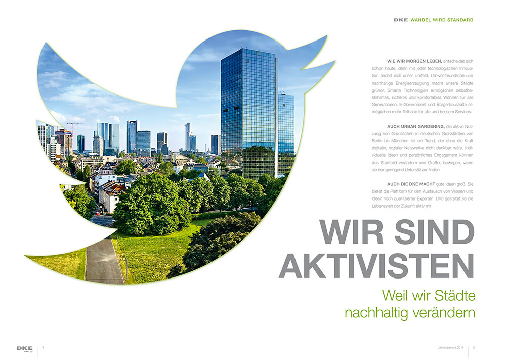 "DKE Jahresbericht 2014 zum Thema ""Digitale Gesellschaft"""