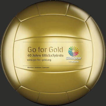 """Go for Gold""-Promotion"