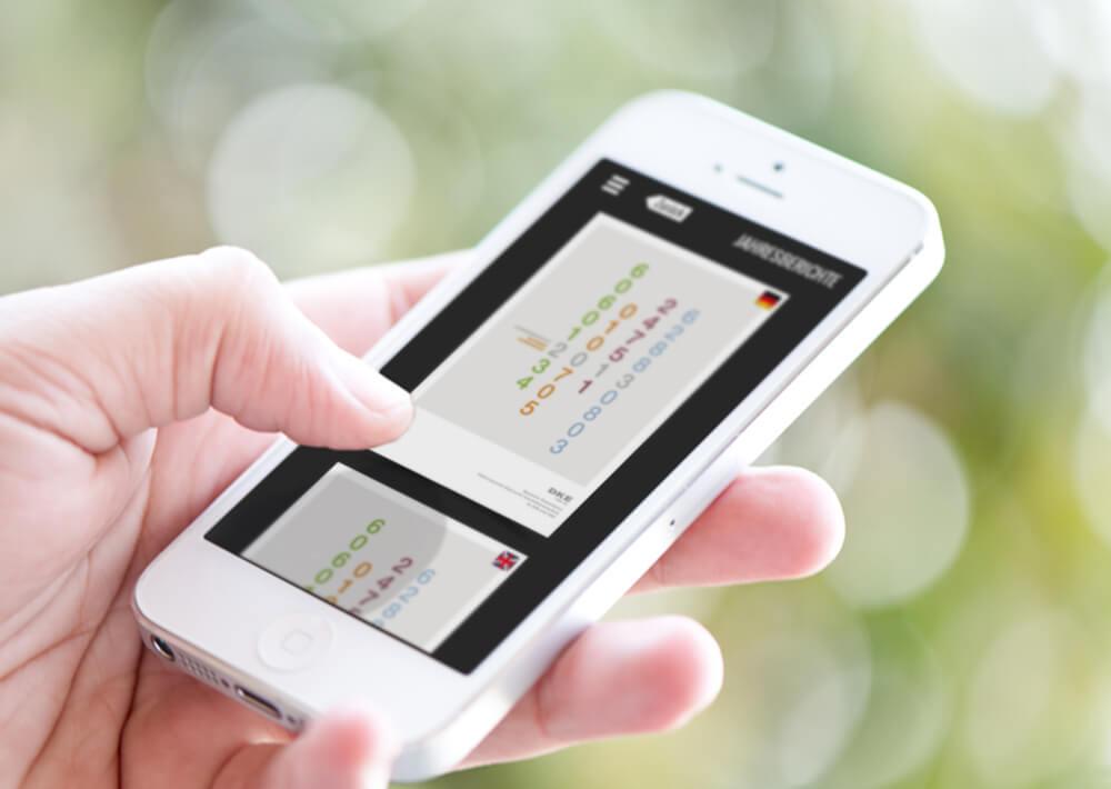 App für die DKE-Publikationen