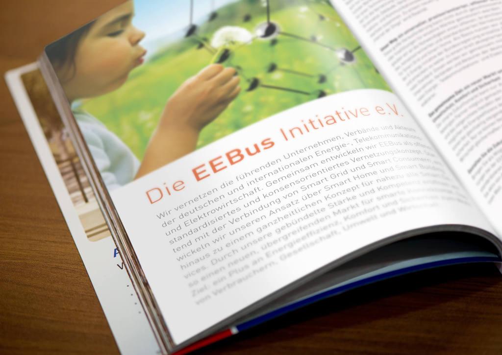 Imagebroschüre für die Initiative EEBus