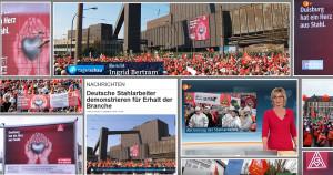 Kampagne Stahlaktionstag – deutschlandweit in allen Medien