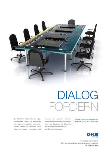 "Imagekampagne DKE. ""DKE. Kompetenz. Dialog. Engagement."""