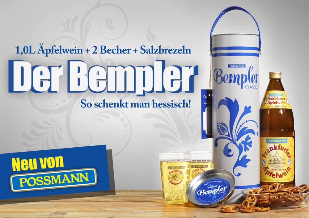 "Key Visual für Produktentwicklung ""Bempler Classic"""