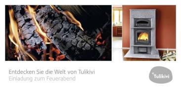 """Mailing """"Feuerabend"""" für Tulikivi"""