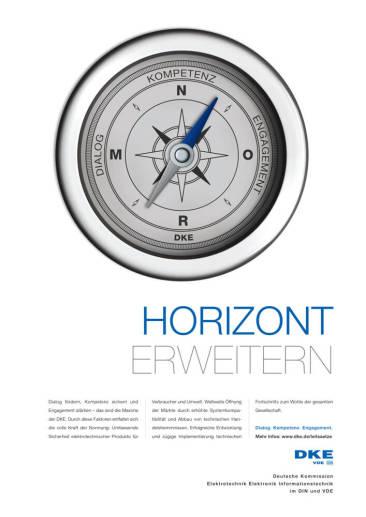 Key Visual der DKE-Leitsatz-Kampagne