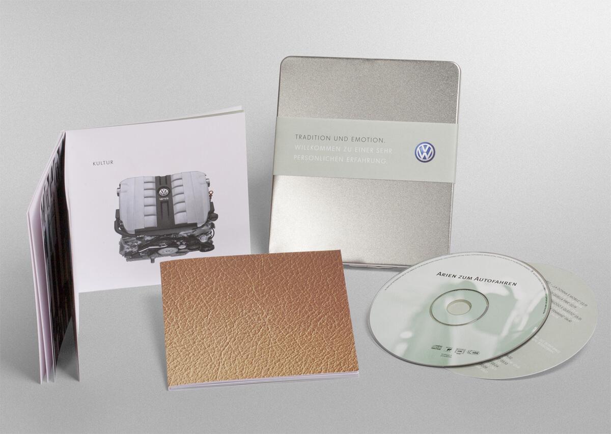 Mailing zur Generierung von Probefahrten für den VW Phaeton
