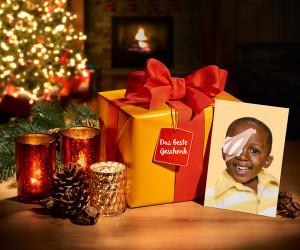 Pressematerial für Weihnachtskampagne