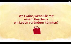 CBM Weihnachtskampagne 2016