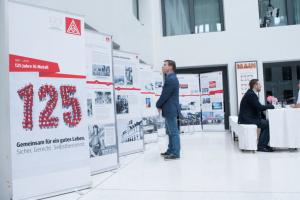 Ausstellung zum 125-jährigen Jubiläum der IG Metall