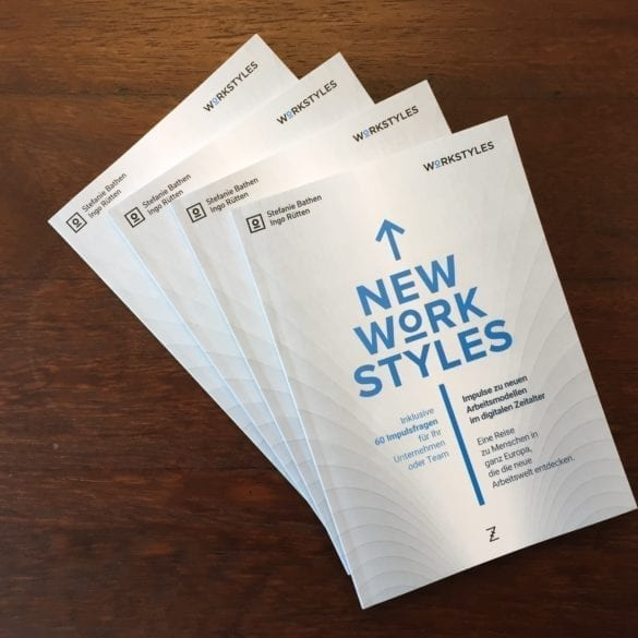 neue Arbeitsmodelle - New Work Styles